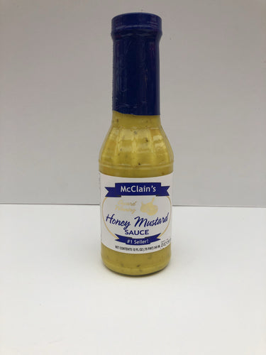 McClain's Old Florida Onion Honey Mustard 3/6 Pack Mustard McClain Old Florida Gourmet