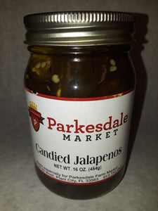 Parkesdale Market Candied Jalapenos 3-pack Jarred Goods Parkesdale Market