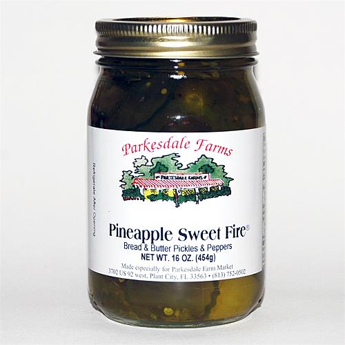 Parkesdale Market Pineapple Sweet Fire 3-pack Jarred Goods Parkesdale Market