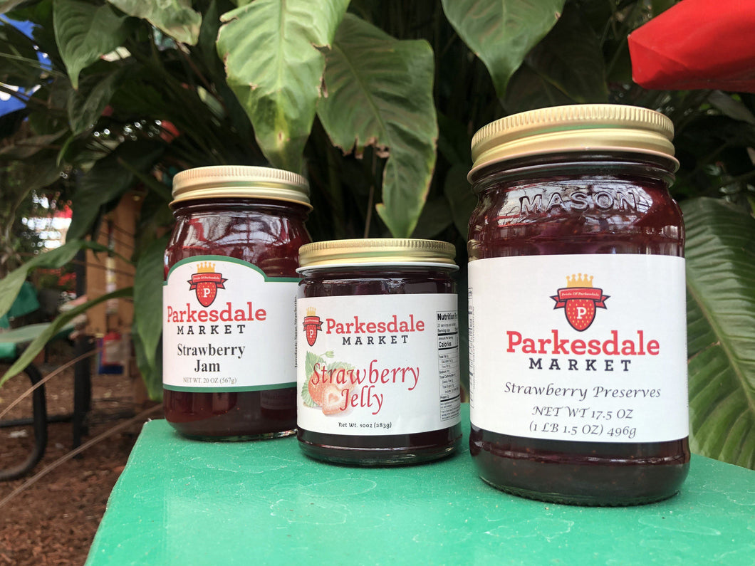 Parkesdale Strawberry Trio Preserves Parkesdale