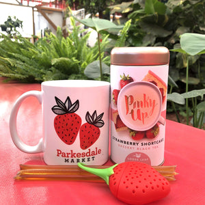 """Pinky Up"" Tea Gift Box Gift Baskets Parkesdale"
