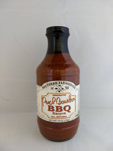 Southern Farmhouse Peach Bourbon BBQ sauce 3-pack BBQ sauce Southern Farmhouse
