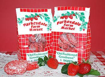 Strawberry Cookie Bag - PICKUP ONLY Baked Goods Parkesdale