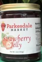 Strawberry Jelly 3-pack Preserves Parkesdale
