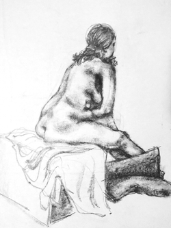 45 Minute Long Pose - Graphite