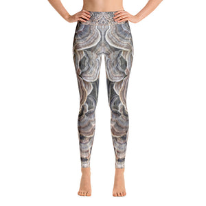 Turkey Tail Yoga Leggings