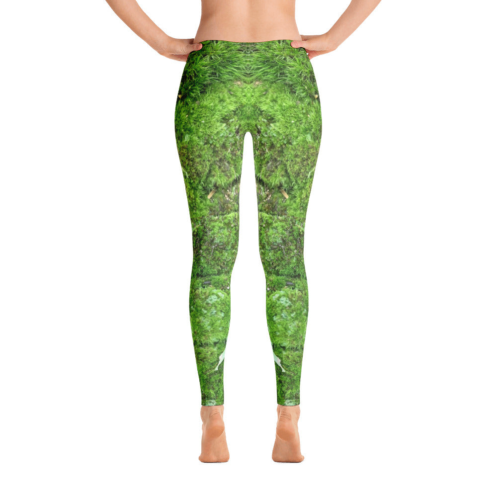 Green moss Leggings