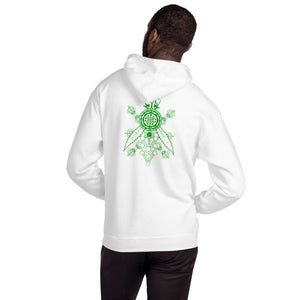 Heavy Green Bee Farms Unisex Hoodie