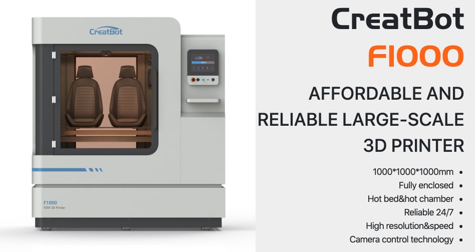 CreatBot F1000 3D printer Features