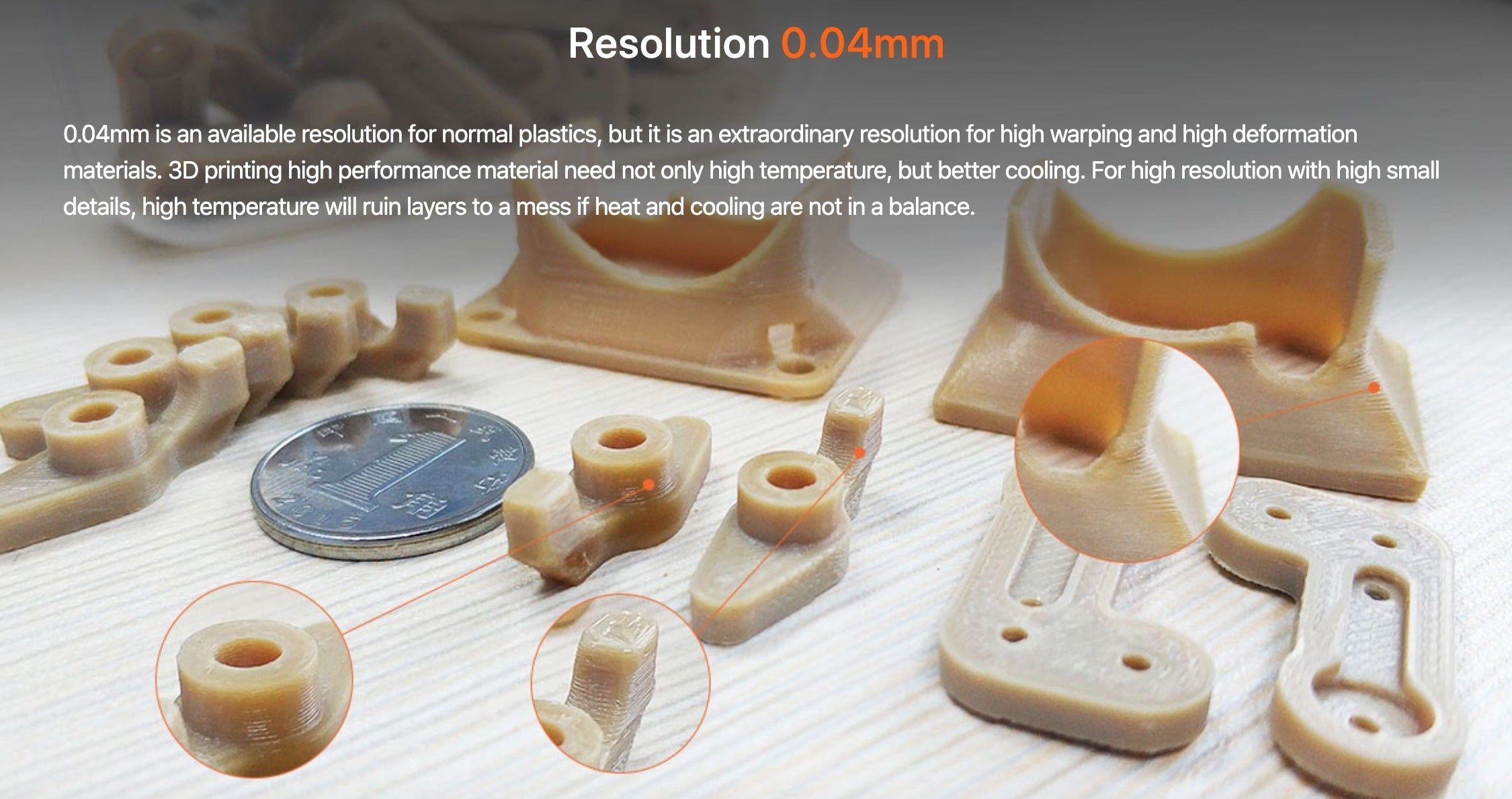 CreatBot PEEK-300 Ultra High-Temperature PEEK ULTEM 3D Printer Description 12