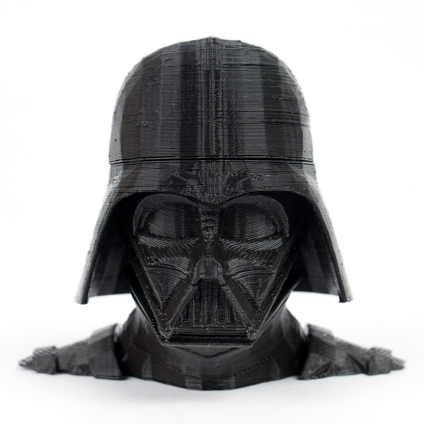 M3D Micro+ The First Truly Consumer 3D Printer Prints Darth Vadar_Front_Black