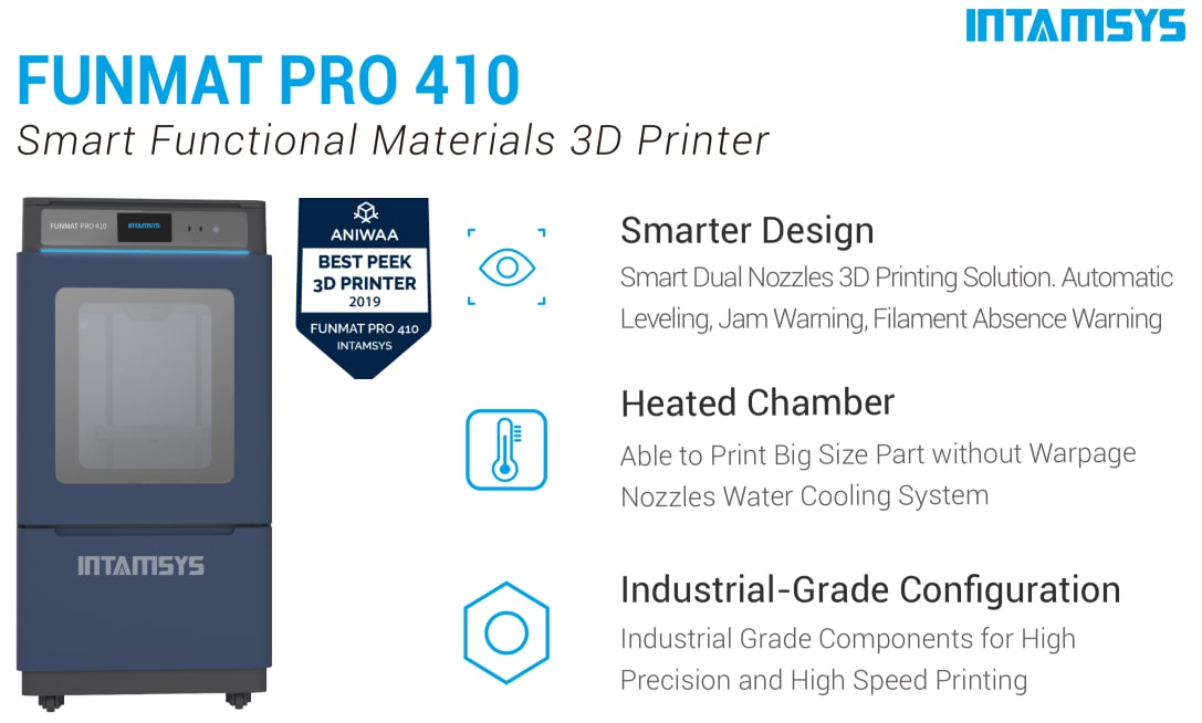 INTAMSYS FUNMAT PRO 410 3D Printer Description 1