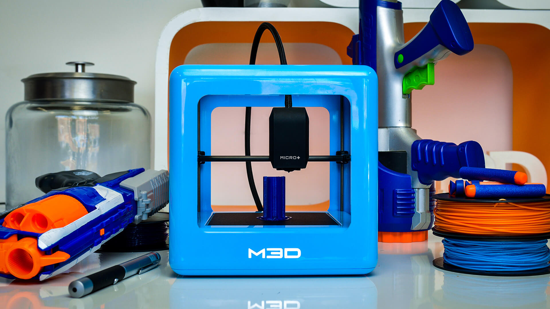 M3D Micro+ 3D Printer Description - 3D Printers Depot