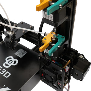 HE3D EI3 Aluminum DIY Automatic Level Large Dual Extruder 3D Printer Kit - 3D Printers Depot