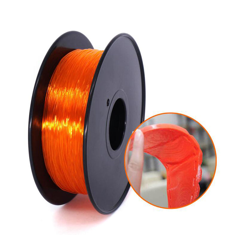 CreatBot 3D Printer Filament 1.75mm TPU Flexible Filament 0.8KG Spool, Dimensional Accuracy +/- 0.05mm