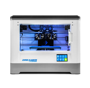 Flashforge Dreamer WiFi Enabled Dual Extrusion 3D Printer