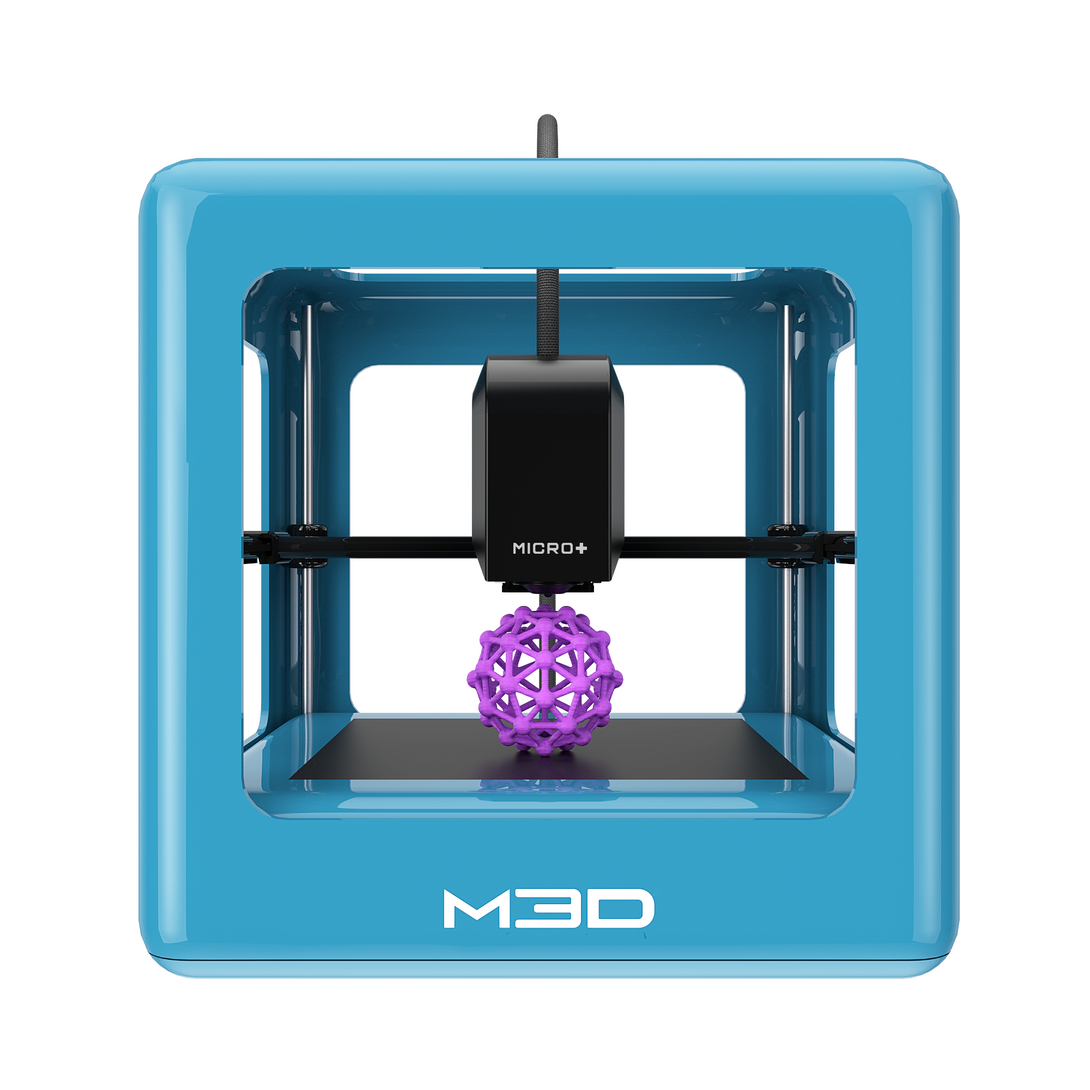 M3D Micro+ 3D The First Truly Consumer 3D Printer Blue - 3D Printers Depot