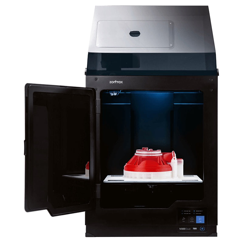 Zortrax M300 Dual The Smartest Dual-Extrusion Large Build Volume 3D Printer - 3D Printers Depot