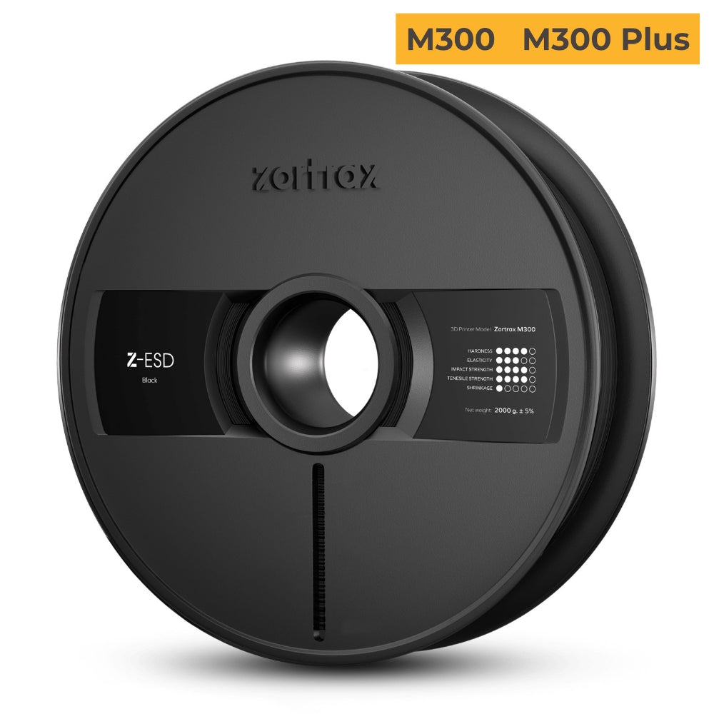 Zortrax Z-ESD Filament Dedicated for Zortrax M300 Zortrax M300 Plus - 3D Printers Depot