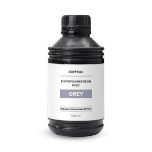 Zortrax Resin BASIC Grey - 3D Printers Depot