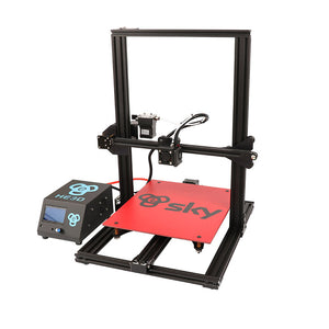 HE3D SKY Full Aluminum Frame AC Heated Bed Dual Extruder 3D Printer - 3D Printers Depot