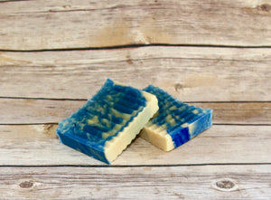 """Leland Blue"" Goat Milk Soap - Eucalyptus & Peppermint - One 4 Oz Bar"