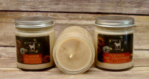 Handcrafted Soy candle - Pumpkin