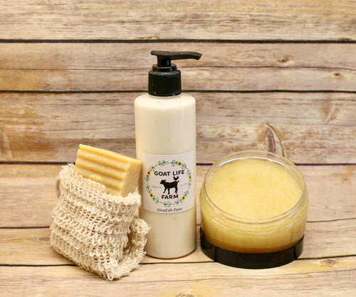 Coconut Delight - Exfoliating and Moisturizing Bundle