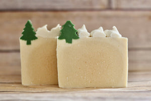 """Winter Wonderland"" Goat Milk Soap"