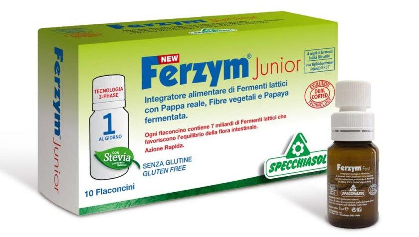 Ferzym Junior - 10 viales/8 ml. Specchiasol