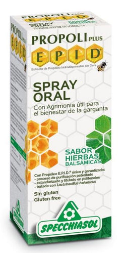 Epid Spray Oral Erisimo Specchiasol