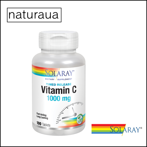 Vitamina C 1000 100 tab solaray