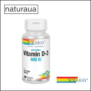 Vitamina D3 400 UI Solaray