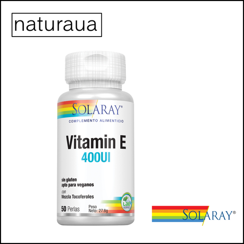 Vitamina E 400 UI Solaray