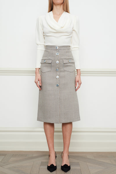 Daria midi skirt with slit