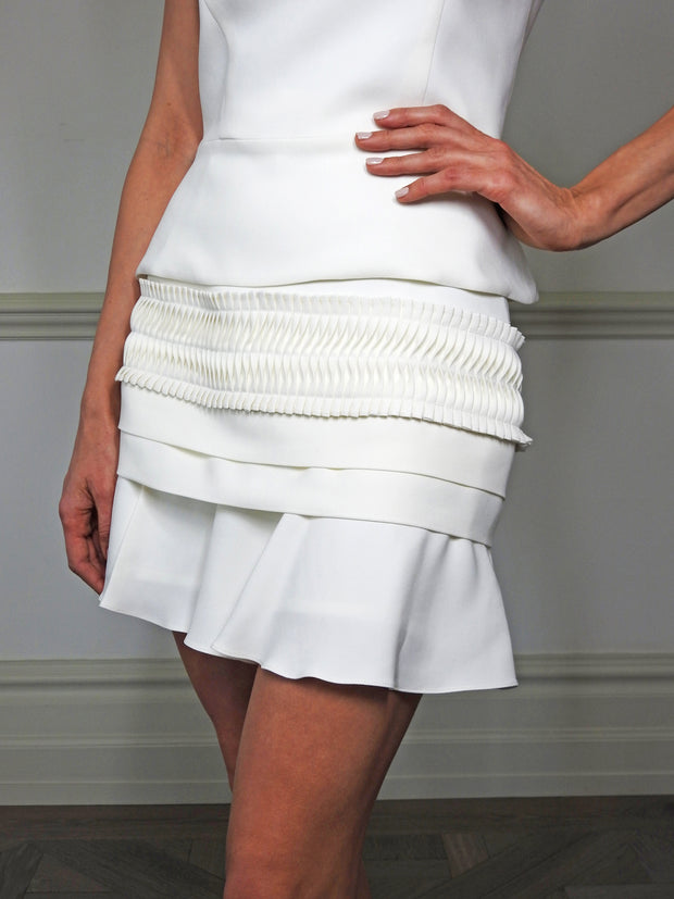 White Karmel Skirt