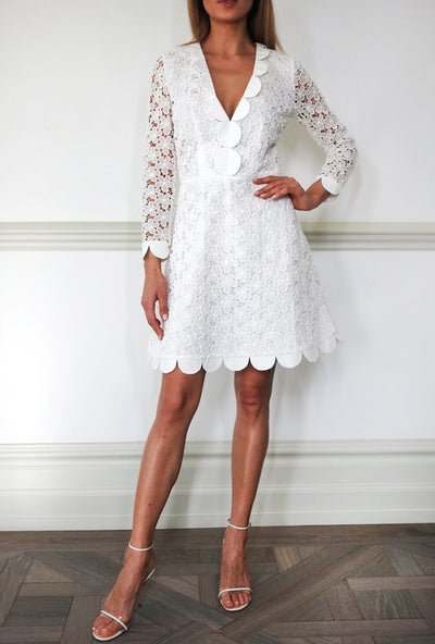Angelina Short Lace Dress