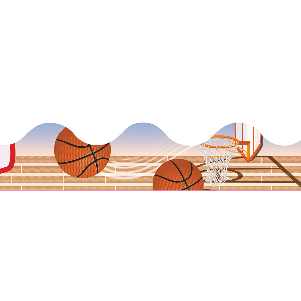 Basketball Deco Trim