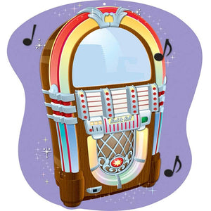 2-Sided Decoration: Jukebox