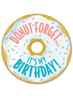 Badges (Donut Forget It's My Birthday)