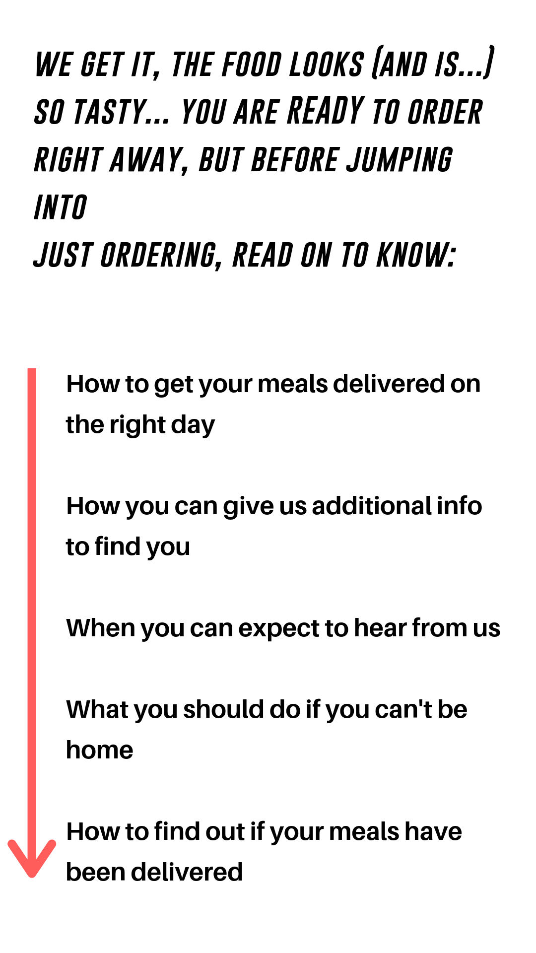 How Delivery Works Lmtless Life Nutrition