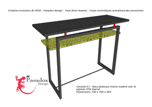 "Console ""Une Table au Sud"""