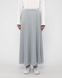Maxi Sunray Skirt Grey