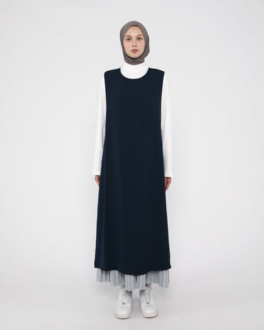 Apron Dress Dark Navy
