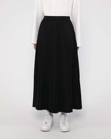 Maxi Sunray Skirt Black