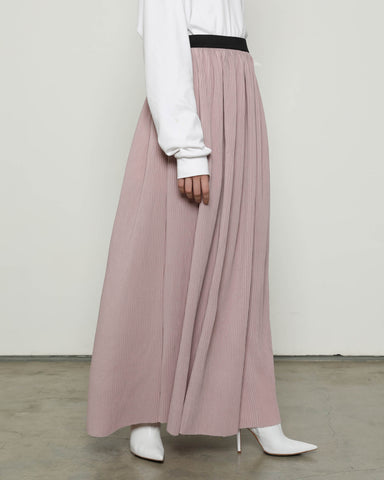 Lidi Pleats Skirt Latte