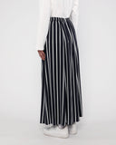 Panel Maxi Skirt Stripe