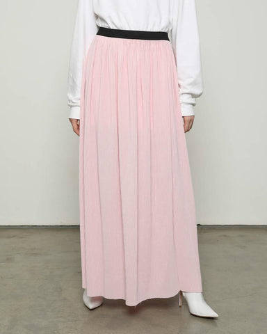 Lidi Pleats Skirt Pink