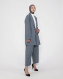 Wide Leg Pants Grey