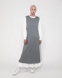 Apron Dress Grey